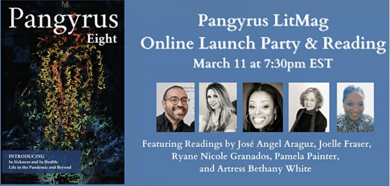 March 11 Pangyrus 8 Launch Party & Reading